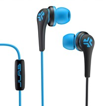 JLab Core Hi-Fi Noise Isolating earbuds with Mic and Cush Fin Technology  - $21.75