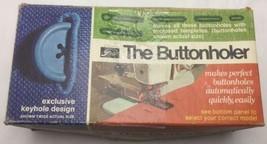 Vintage Greist The Buttonholer Automatic Buttonhole Stitch Attachment Mo... - $4.95