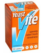 Yeast Vite Relief From Tiredness with Vitamins 100 Tablets - 1 , 2 , or ... - $11.00+