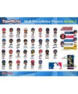2018 MLB BASEBALL TEENYMATES SERIES 5 - PICK YOUR BASEBALL TEAM/ PLAYER ... - $0.99+