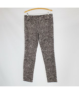Brown gray black floral cotton blend JESSICA SIMPSON corduroy pants 10 - $19.99