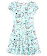 NWT The Childrens Place Girls Unicorn Mermaid Narwhal Skater Dress  - $10.99