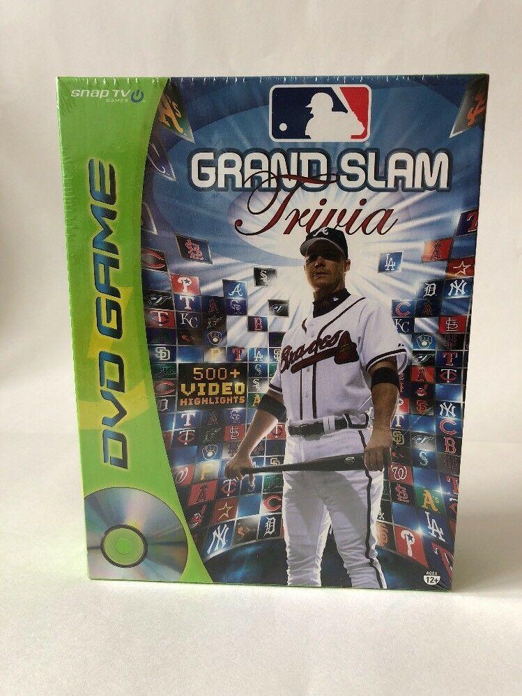 MLB Grand Slam Trivia DVD Game 2006 Snap TV Games Baseball Family Night - $13.81