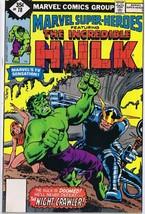 Marvel Super Heroes #78 ORIGINAL Vintage 1978 Comic Book Hulk Night Crawler - $9.49
