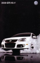 2008 Volkswagen GTI sales brochure catalog US 08 VW 2.0T MkV - $9.00