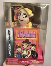 Nintendo Gameboy Advance Princess Natasha Fun Pak Plush Toy Book Cartoon... - $49.49