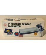 "GBC Personal Desktop Laminator 9"" Protects Certificates Photos Create Bo... - $14.99"