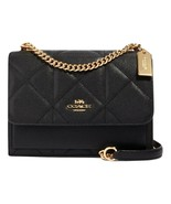 COACH 91173 KLARE CROSSBODY BAG WITH QUILTING BLACK MSRP: $428.00 - $247.50