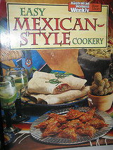Australian Women's Weekly Easy Mexican-Style Cookery - $5.08
