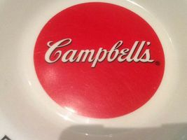 9 CAMPBELL SOUP BOWLS ARCOPAL FRANCE GOOD FOR THE BODY GOOD FOR THE SOUL NICE image 4