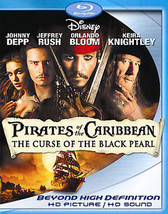 Pirates of the Caribbean: The Curse of the Black Pearl Blu-ray Disc, 200... - $11.78