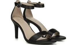 Naturalizer Women Strappy Sandals Kinsley 2 Black Satin - $39.96