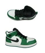 Air Jordan 1 Mid SE (PS) Pine Green Black Sail Size 2Y Toddler NEW BQ693... - $84.10