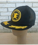 Vintage NRA Hat Cap National Rifle Association Mesh Snapback Trucker Oak... - $16.36