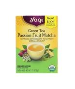 Yogi Tea, Green Tea, Passion Fruit Matcha, 16 Tea Bags, 1.12 oz (32 g) - $4.00