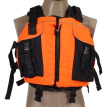 Swimming Life Vest Jacket Polyester Universal Drifting Outdoor Comfort S... - $35.49