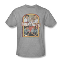 Emergency! T-shirt retro 70s 80s classic TV graphic printed NBC190 Heather Grey image 2