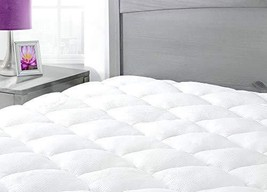 Mattress Pad. Best Soft Cooling Topper Pillow Top Provides Optimal Body ... - $138.59