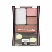 Maybelline Expert Wear EyeShadow Eye Quad Rose Lights Luminous Light #90Q - $4.94