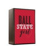 Inspired Home Ball State Girl Box Sign Size 4x5.5 - $14.70