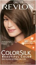 Revlon ColorSilk Beautiful Color - 41 Medium Brown  - $6.39