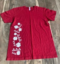 M Red Arizona Az 2008 Arizona University Delta Delta Delta T Shirt Medium - $8.86
