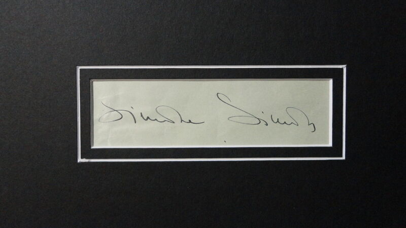 Simone Simon Signed Framed 16x20 Photo Display JSA Curse of the Cat People image 2