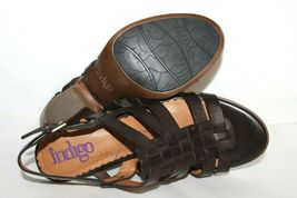 ✿ INDIGO by Clarks Woven Strappy Slingback Heeled Sandals 8 M EXCELLENT! L@@K!26 image 6
