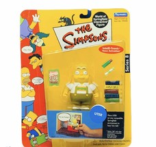 The Simpsons action figure toy Playmates World Springfield vtg Uter Germ... - $23.98