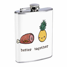 Better Together Em16 Flask 8oz Stainless Steel Hip Drinking Whiskey - $279,96 MXN