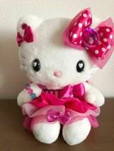 Hello Kitty USJ Limited Plush Doll Pink Dress 2013 Sanrio Japan Rare New... - $95.05