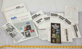Vintage Lot of Ilford Films Printing Instructions Manual Brochures tthc - $14.84