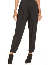 Elie Tahari Women Pants Size 8 Lightweight Pleated Tapered Leg Side Zip ... - $43.88