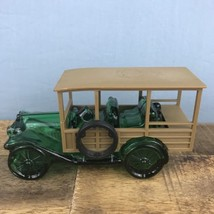 """VINTAGE AVON 1971 """"STATION WAGON"""" WILD COUNTRY AFTER SHAVE DECANTER Empty - $3.99"""