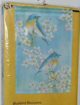 New Creative 25379 Impressions Bluebird Blossoms Indoor Outdoor Garden Flag image 3