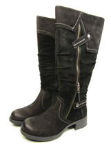 Earth Sycamore Womens Dust Boots Black Scout Vintage Size 5 - $57.87