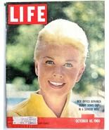 LIFE Magazine VTG October 10 1960 RARE Sample Copy Doris Day JFK Nixon 6... - $26.61