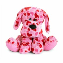 The Beverly Hills Teddy Bear Company, Pink Heart Plush Puppy - $23.75