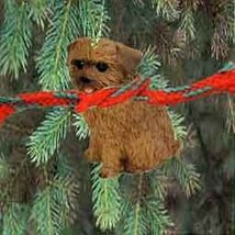 Norfolk Terrier Miniature Dog Ornament - $14.69
