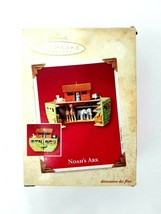 2003 Hallmark Keepsake Ornament Noah's Ark Bottom Opening Christmas Orna... - $14.01