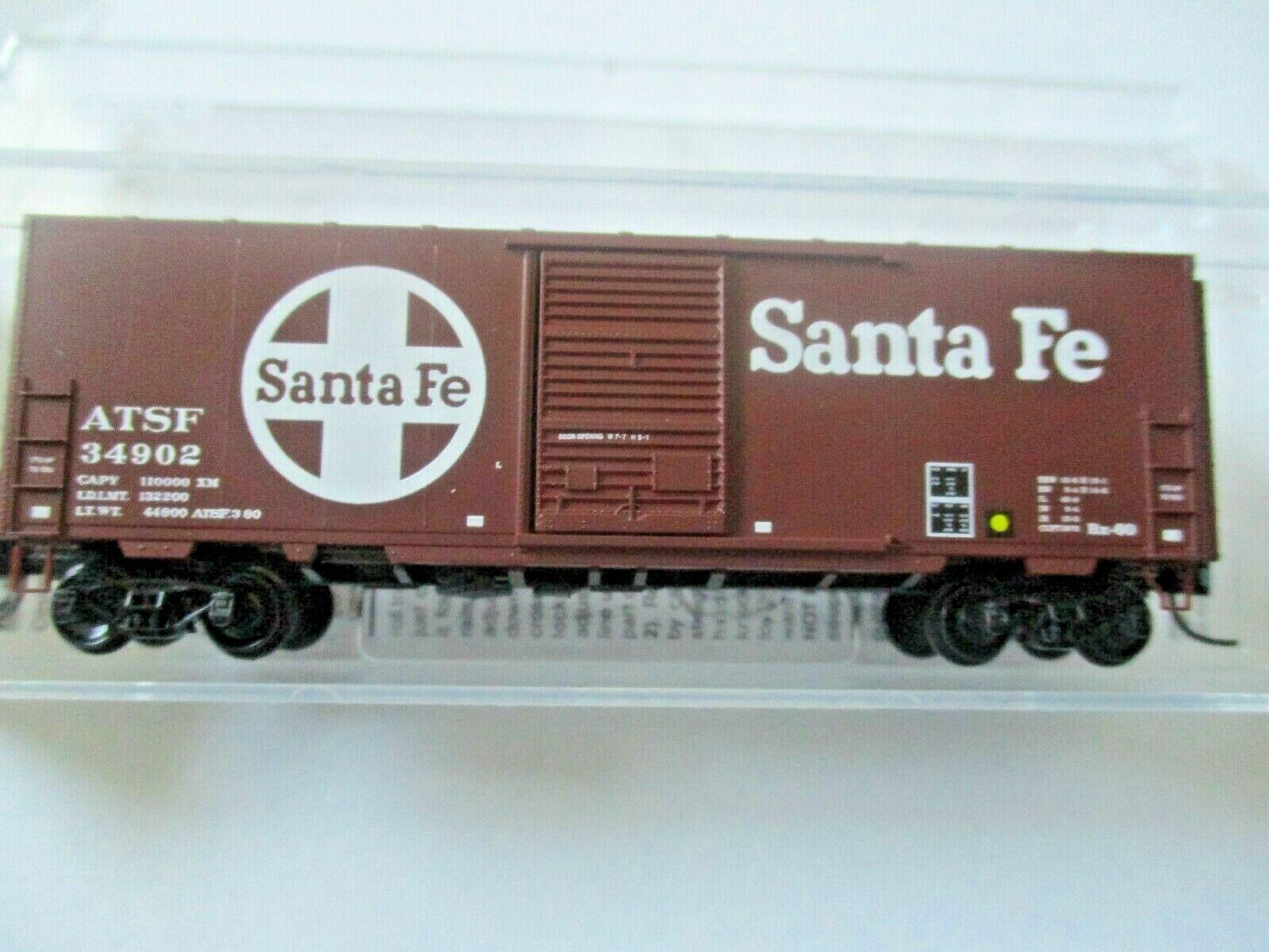 Micro-Trains # 07300560 Atchison, Topeka & Santa Fe 40' Standard Box Car N-Scale