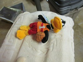 "Daffy Basketball Bean Bag , 9"" , 2000 - $15.00"
