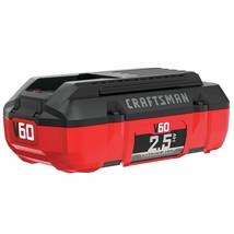 CRAFTSMAN V60 Battery, 2.5 Ah Lithium Ion (CMCB6025) - $121.12