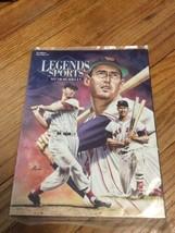 NEW Rare-Legends Sports Memorabilia Mag-Ted Williams-1996 Hobby Ed 77 Se... - $18.95