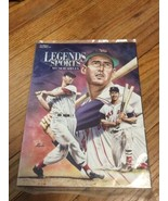 NEW Rare-Legends Sports Memorabilia Mag-Ted Williams-1996 Hobby Ed 77 Se... - $18.95