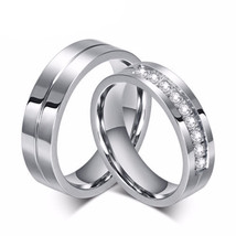 Cubic Zirconia Rings Wedding Ring Sets Promise Rings Wedding Bands Rings... - $24.98