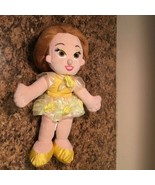 "Disney Beauty and The Beast Plush Doll Bellle 13"" Tall Stuffed Toy - $9.29"