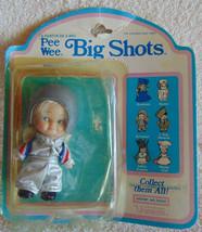 Pee Wee Big Shots - Astronaut Action Figure Doll - Uneeda - Shell has damage - $15.02