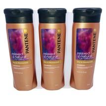 3 - Pantene Pro-V Relaxed & Natural Dry to Moisturized Shampoo 12.6 oz New Rare - $79.10