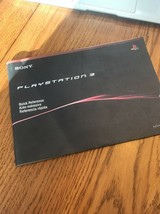 PlayStation 3 Quick Reference Instructions Only Ships N 24h - $7.82